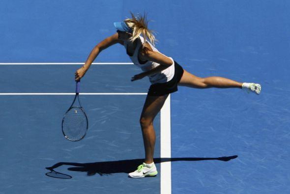 Sharapova no compitió en el Torneo de Brisbane por una lesión en el tobi...