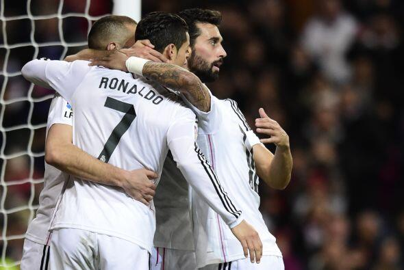 Ronaldo, Arbeloa y compañía corrieron para celebrar con el...