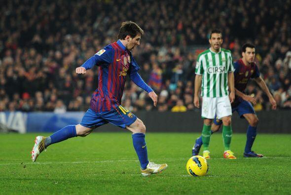 Y por si fuera poco, se marcó un penalti en favor del Barcelona. Messi l...