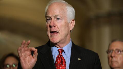 Senador John Cornyn (republicano por Texas).