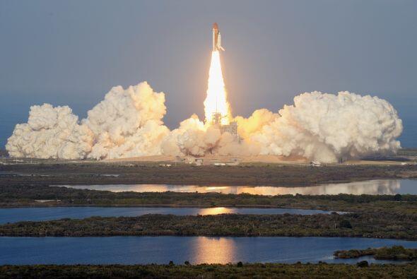 Este es el comienzo del fin de 30 años de programa espacial de vuelos tr...