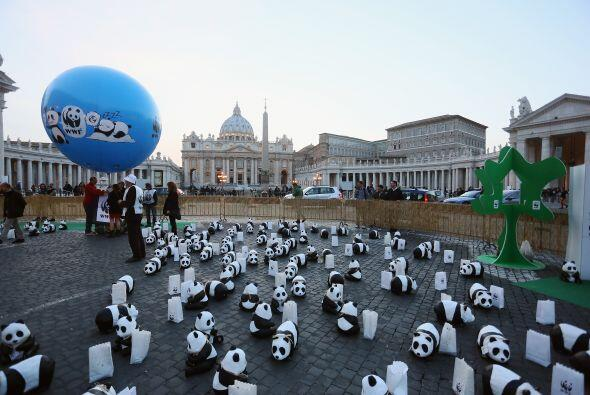 En el Vaticano la gente comenzó a asistir desde que comenz&oacute...