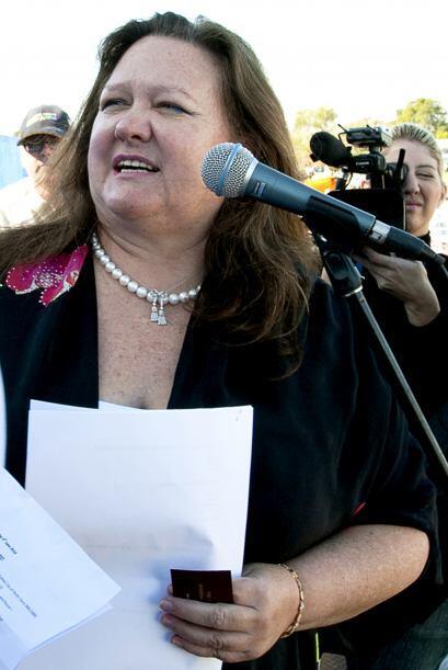 27.- GINA RINEHART: Es la presidenta ejecutiva de la empresa familiar Ha...
