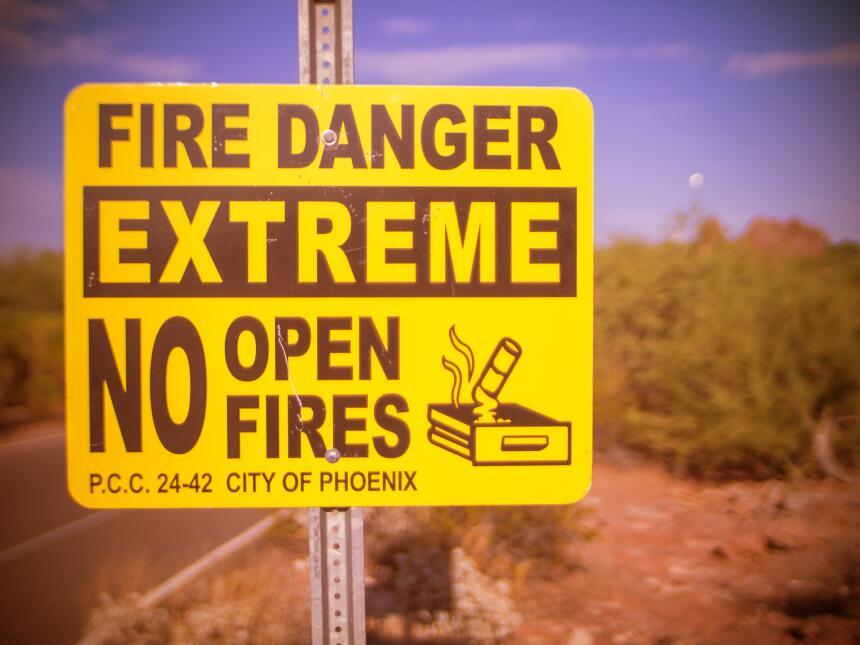 Ola de Calor en Phoenix Arizona