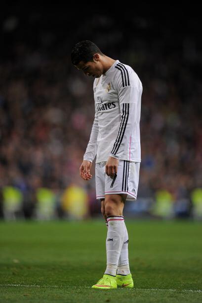 Cristiano Ronaldo tendrá que levantar la cara y ponerse a trabaja...