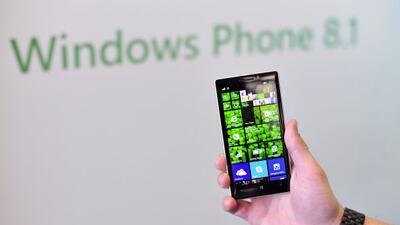 Los teléfonos Nokia Lumia son los principales proveedores del sistema op...