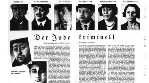 Supuestos tipos de criminales judíos