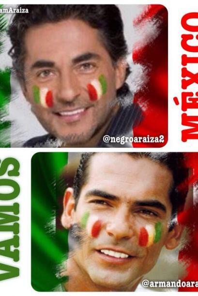 Los hermanos Araiza, Raúl y Armando. Todo sobre el Mundial de Brasil 2014.