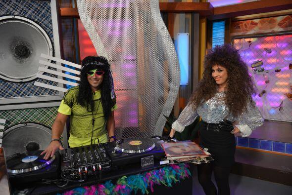 El DJ no podía faltar, esta fue una mañana muy musical.