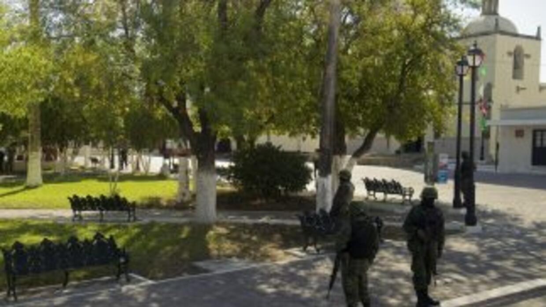 El consulado de EEUU en Matamoros anunció la suspensión temporal de los...