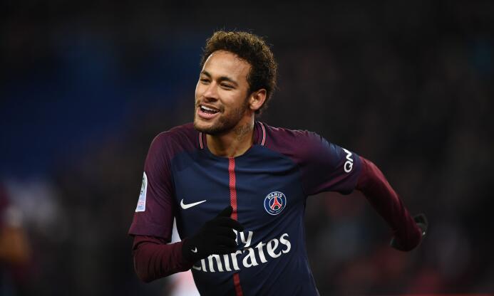 14. Neymar Jr. - Goles: 5 - Oportunidades: 41 - Porcentaje de éxito: 12,2%