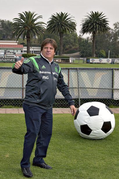 Miguel Herrera tendrá su primer partido del 2014 el próximo 29 de enero...