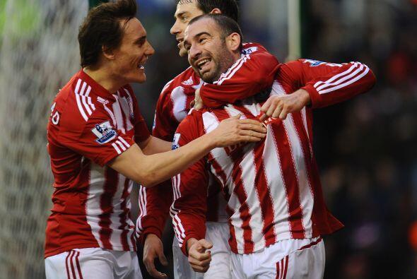 El Stoke se impuso por 2-1 con un gol de este defensa.