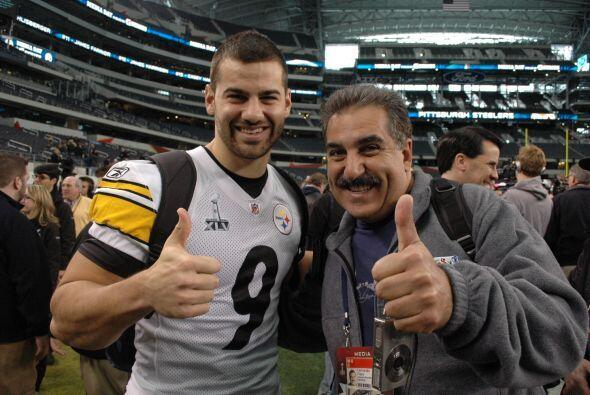 """Daniel Sepúlveda, orgullo latino de Pittsburgh, otra vez con el """"Preside..."""