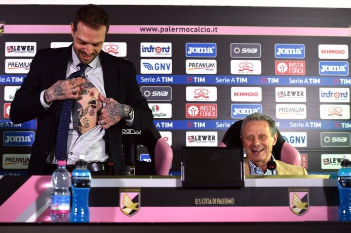 'Me tatuaré la cara si el Palermo se salva' GettyImages-649128120.jpg