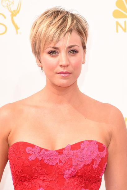 Kaley Cuoco no se salvó.