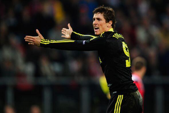 En este duelo, el ariete español Fernando Torres estuvo negado con el gol.