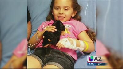 Con tan solo 4 años, Gianna sufre rara enfermedad