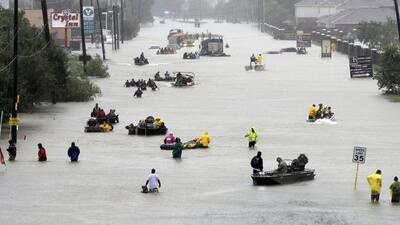 Photos from Houston, Texas: when highways turn into rivers