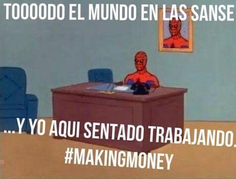 """#focused #workhard #playhard #makingmoney #art #design #spiderman #meme..."