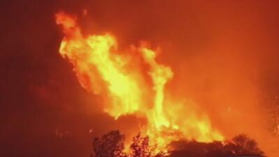 Voraces incendios en California