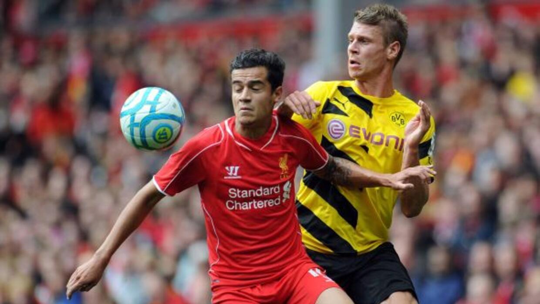 Los ingleses mostraron mejor forma y fútbol que el Dortmund.