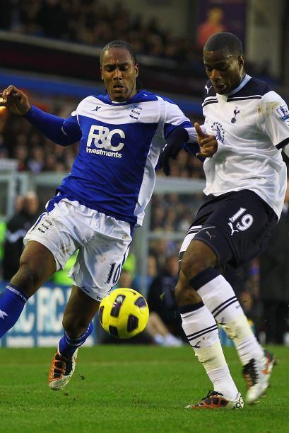 Sebastien Bassong marcó para el Tottenham, Wilson Palacios recibi...