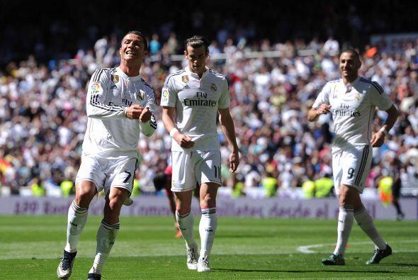 Pero Cristiano sólo tenía en su mente la portería rival y el balón.