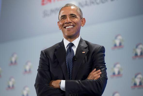 Obama elogió el espíritu de la iniciativa empresarial.