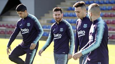 Messi está listo para jugar ante el Betis; Dembélé no es incluido