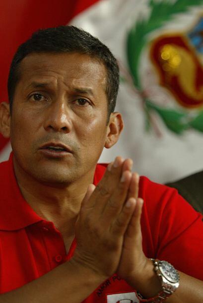 Es la segunda ocasión que Humala es candidato presidencial, en los comic...