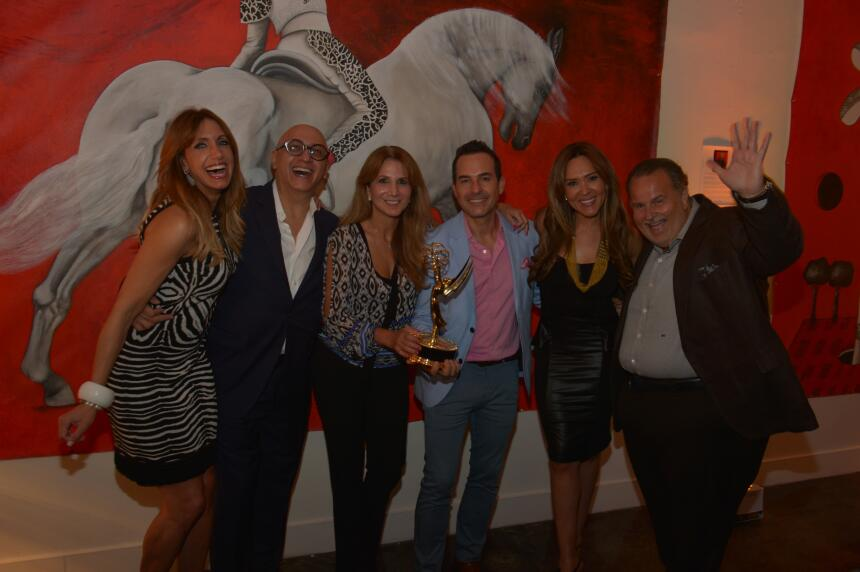 El equipo de El Gordo y la Flaca celebró a lo grande por su EMMY.