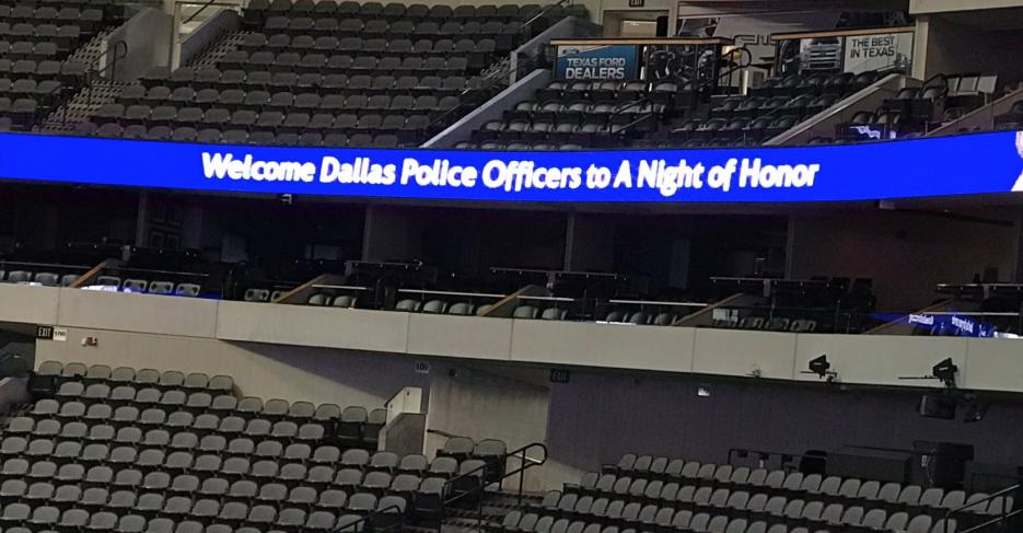 Así recordó Dallas a los oficiales caídos en ataque contra la policía ha...