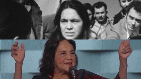 Dolores Huerta, la mujer que luchó por los derechos de los campesinos en...