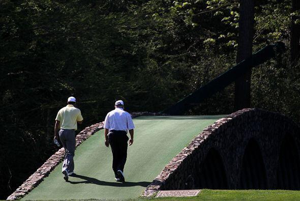 El camino no ha sido fácil para Woods y espera retomar su nivel &...