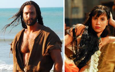 Ellos son 'Sansón y Dalila', los dos personajes de la nueva serie...