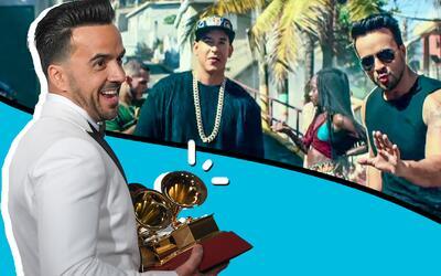 'Despacito' ganó las cuatro categorías en las que estaba n...