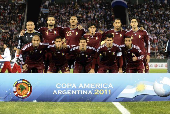 Y por último aparece la selección de Venezuela, la revelación de la Copa...