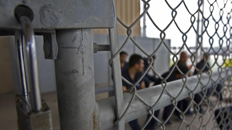 Un centro de detención para inmigrantes indocumentados en Texas.