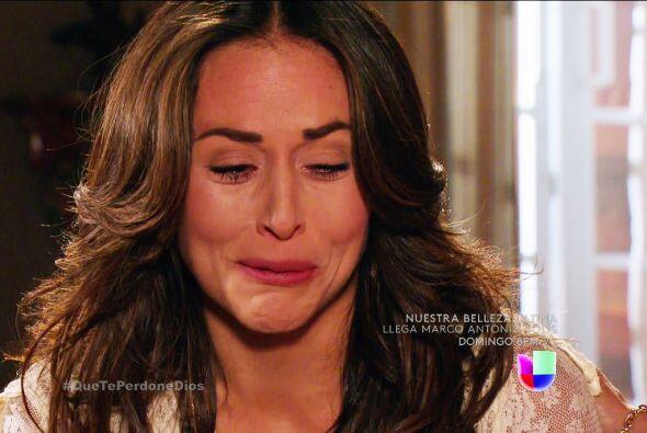Ya no llores Abigail, Diana se quedó con el amor de Mateo.