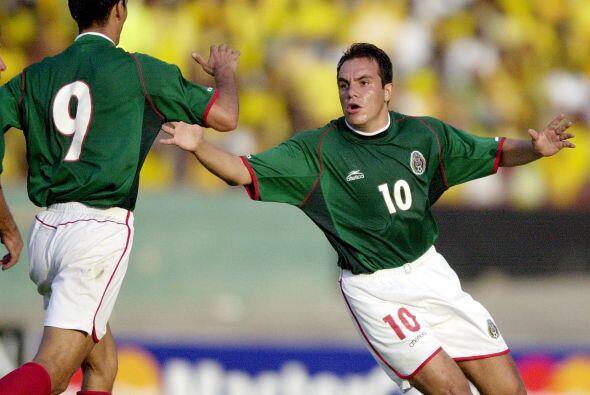 En aquel 2001, México ganó el juego siete a Jamaica, el ju...