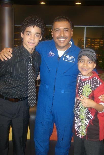 José Hernández, David y Miguelito son un ejemplo a seguir.