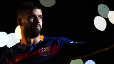 Gerard Piqué se perderá los primeros cuatro partidos de Liga del Barcelona.