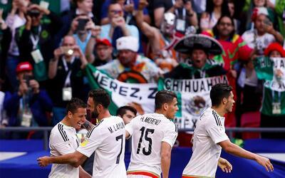 Con esta alineación, Osorio y el Tri planean regresar a la final de Conf...