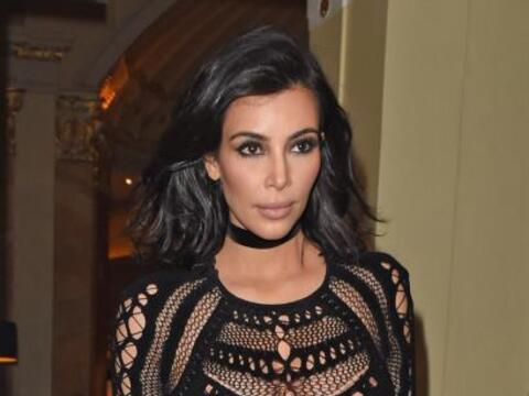 Sí, una vez más Kim Kardashian dejó muuuy poco a la...