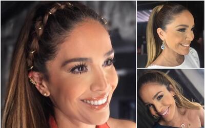 Karla Martínez peinados