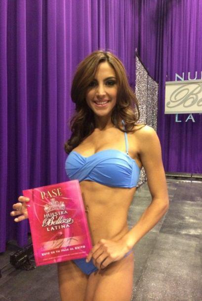 La única venezolana de la competencia nos cautivó con su belleza y delic...