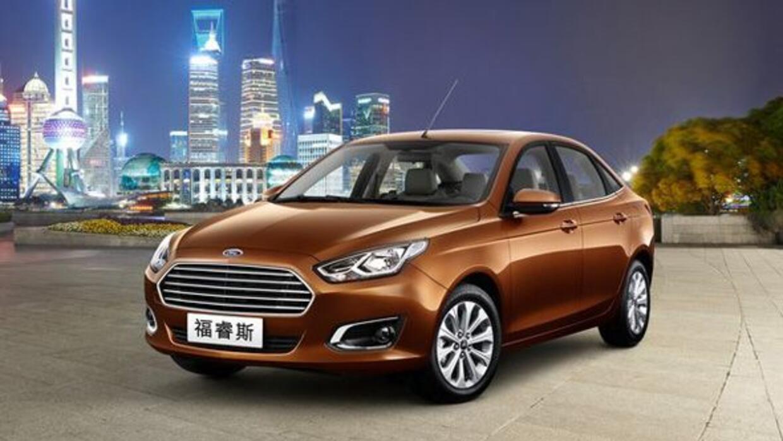 Ford revivió el nombre Escort para un nuevo auto exclusivo para el merca...