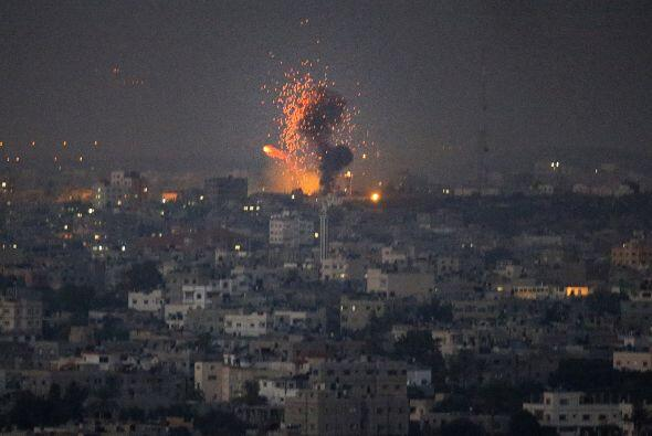 """El Ejército israelí indicó en un comunicado que ha alcanzado a un """"terro..."""