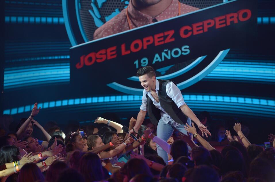 José López es un chico que sabe valerse por sí solo. Y en la audición, b...